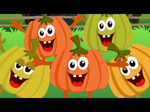 Five Little Pumpkins - Children Nursery Rhyme Song I Kindergarten Rhymes I Toddler Kids Babies Songs