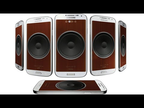 Samsung Galaxy S4 Group Play - Music Sharing