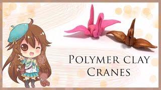 Polymer Clay Tutorial: Clay Origami Cranes