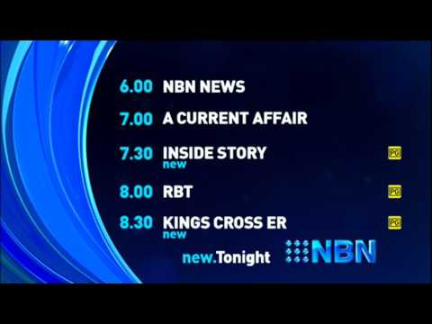 NBN Television - Lineup and 5 Second Ident (11.2.2016)