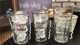 [cafe vlog#50] ❄️덥쥬? 시원한 영상 보러…