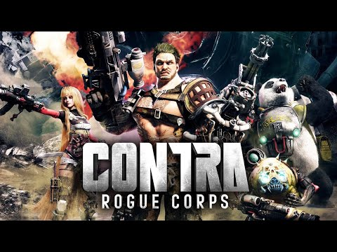 Let's Try: Contra: Rogue Corps  