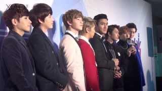 [HD FANCAM] 131222 Super Junior M at 2013 Baidu Awards