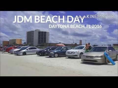 Jdm Beach Day Daytona Beach 2016