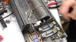 замена двигателя тепловой завесы