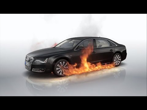 Audi A8 L Security Gadgets || Most Secure Audi Ever