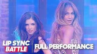 Anna Kendrick Performs 'Booty' w/ Jennifer Lopez & One Direction's 'Steal My Girl' | Lip Sync Battle
