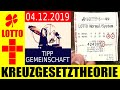Lotto 6 Aus 49 !!! Zahlen Vorhersage: Mittwoch 04.12.2019  ✅ TREFFER ✅