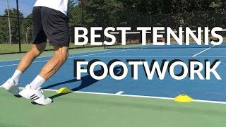 Practice Your Footwork Like Professional Tennis Players - TOP 5 | Connecting Tennis | Fitness