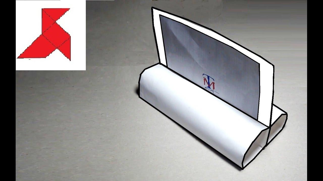 Как сделать подставку для бумаги своими руками фото 689