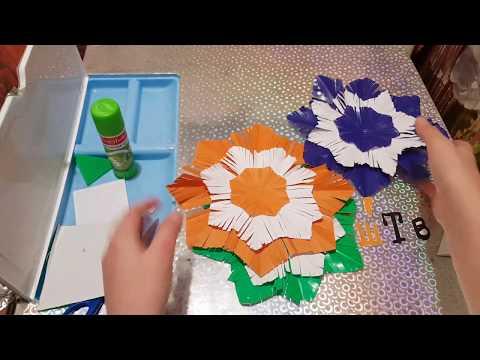 ☃️ Делаем Объёмную ☃️ Снежинку ☃️из Цветной Бумаги  (Kinder Малыш Тв)