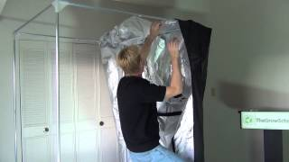 How to set up a grow tent(How to set up a Secret Jardin DR120 grow tent. The Grow School teaches cannabis growing classes in Denver, Colorado. Sign up for GROW-101 at ..., 2014-04-28T01:29:34.000Z)