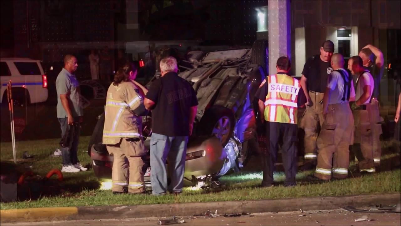 Pasadena freeway accident today