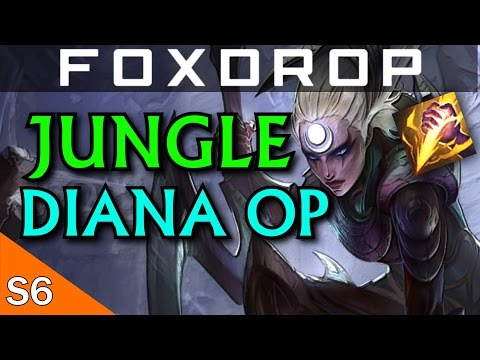 AP Diana Jungle is Bloody Strong - League of Legends Season 6