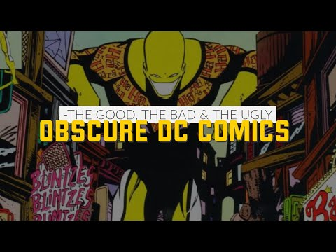 Obscure DC Comics Characters