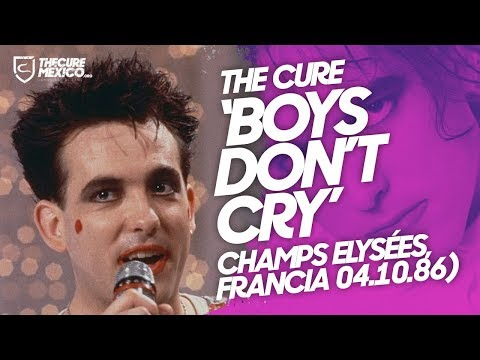 "The Cure - ""Boys Don't Cry"" (Champs Elysées, Francia 04.10.86)"
