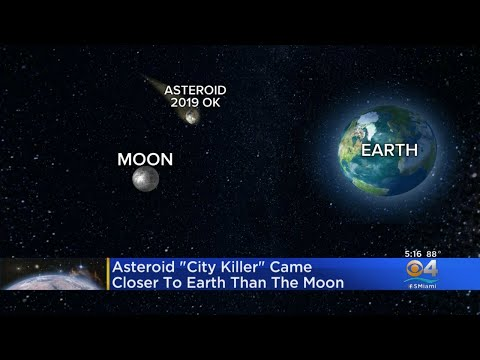Asteroid Comes Close To Earth