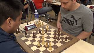 Back-and-forth English opening: GM Cruz - GM Volokitin, Tal memorial blitz chess