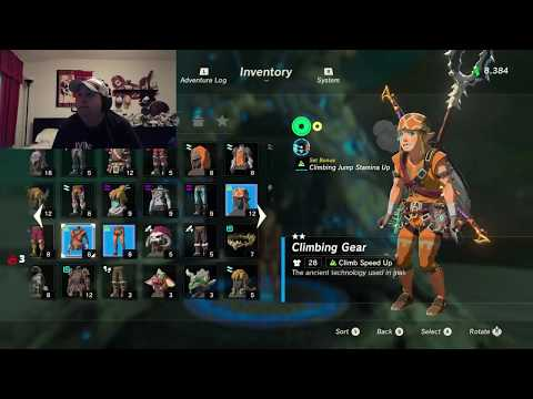 Streaming With Chichuki-The Legend of Zelda: Breath of the Wild