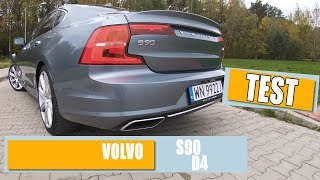TEST - Volvo S90 D4 INSCRIPTION 2.0 190 KM (2017) - RECENZJA OPINIA