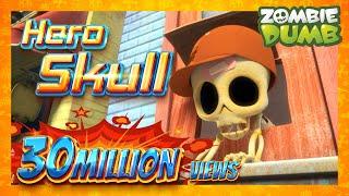 ZOMBIEDUMB SEASON2 | Main Character Skull! | THEME COMPILATION | 30MIN | FUNNY CARTOON | HALLOWEEN