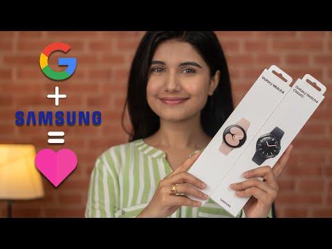 Samsung Galaxy Watch 4 Vs Watch 4 Classic Unboxing!