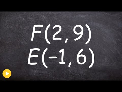 Determine the endpoint given one endpoint and midpoint algebraically