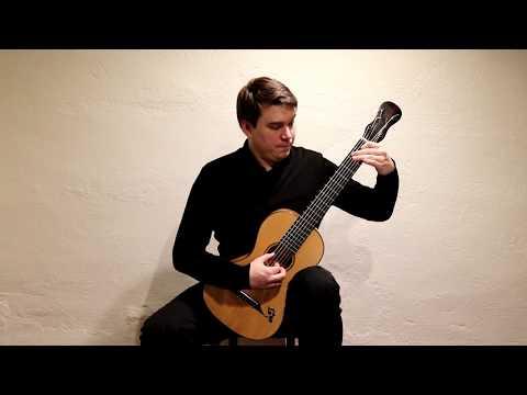 Matteo Carcassi Etude 24 from 25 Etudes op. 60 played by Patrik Kleemola