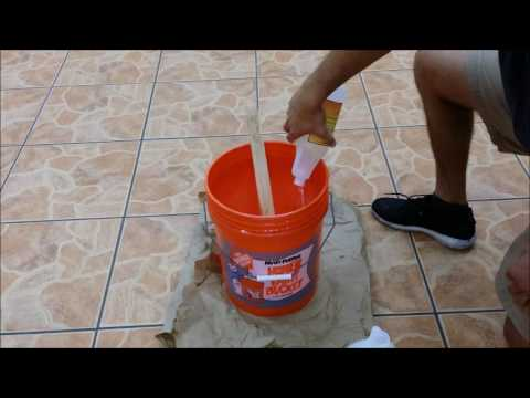 How To Mix Glazeguard Sealer For Ceramic And Porcelain Tile Youtube