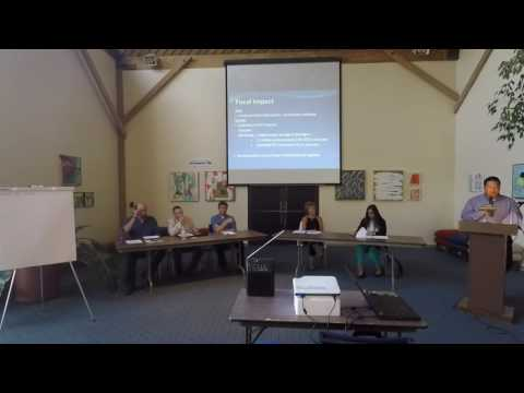 City of Sausalito - Short Term Rentals Discussion Forum 6-29-16