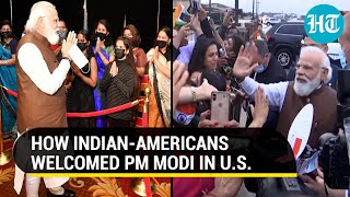 PM Modi reaches US, greets Indian-Americans; to meet Kamala Harris, global CEOs on Day 1