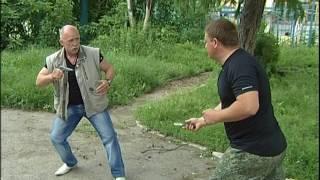 Валерий Крючков . ТВ передача ЗАЩИТИ СЕБЯ САМ. 26 выпуск. пистолет
