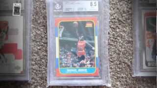 NBA Basketball Card Collection Michael Jordan GRADED
