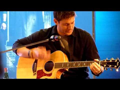 Jensen Ackles Singing