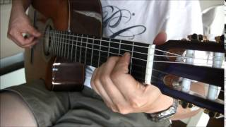 Rock of Ages - Fingerstyle Guitar Hymn
