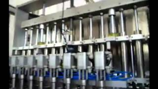 AFLS-8120 couple with 12 heads servo drive filler