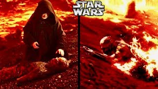 What Sidious and Vader did to Ensure Vader Survived After his Injuries on Mustafar! (Legends)