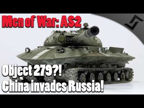 Men of War: Assault Squad 2 - Red Rising - Object 279?! - China Invades Russia!