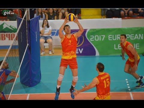 CEV European League Men 2017 Macedonia - Azerbaijan