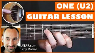 One Guitar Lesson - part 1 of 10