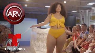 Causa sensación desfile de modelos de tallas grandes en Colombia | Al Rojo Vivo | Telemundo