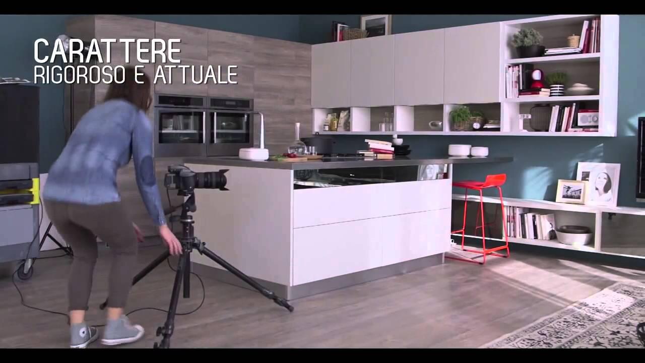 Vittore Niolu presenta il progetto Motus per cucina e living - YouTube
