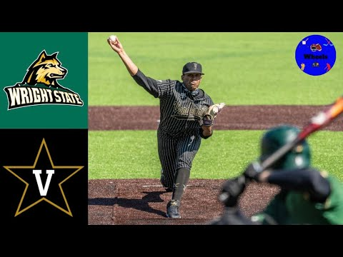 Download Wright State vs #3 Vanderbilt Highlights | Doubleheader Game 1 |  2021 College Baseball Highlights