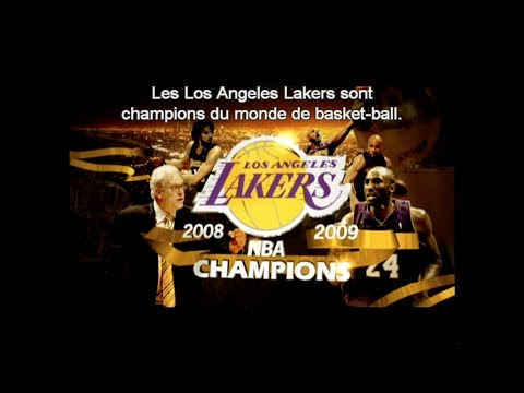L.A Lakers, 2009 Champions NBA - VOSTFR
