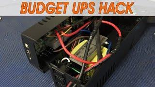 UPS Hacking for offgrid DVR survalance system