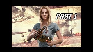 FAR CRY 5 Gameplay Walkthrough Part 1 - FIRST HOUR!!! Eden's Gate (4K Let's Play Commentary)