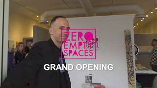 Zero Empty Spaces Grand Opening Reception On Las Olas Video Recap (8/1/19)