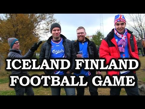 Joe Goes To The Iceland vs. Finland Football Game