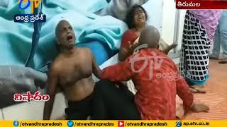 Boy dies in road accident in Tirumala