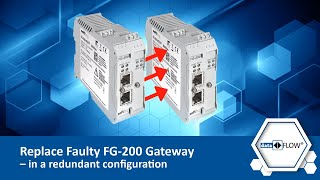 Replace Faulty FG-200 Gateway – in a redundant configuration